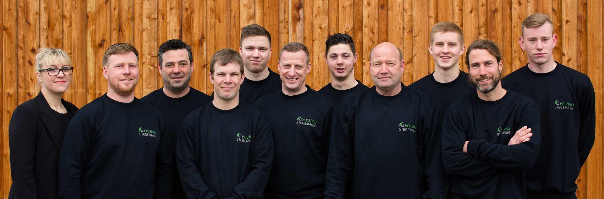 Holzbau Stegemann Gruppenfoto